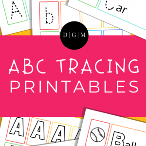 Learn the alphabet printable bundle