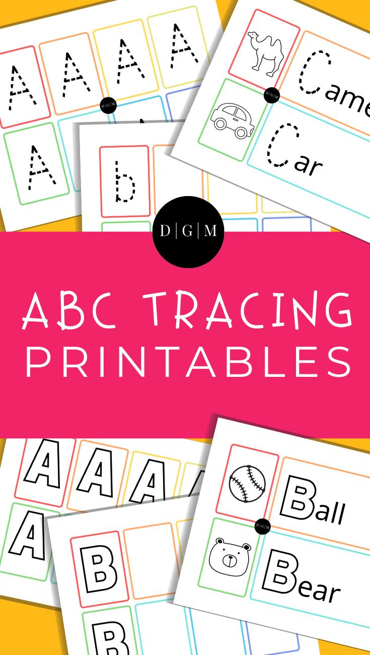 Learn the alphabet printable bundle