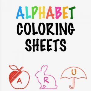 Alphabet letters for kids