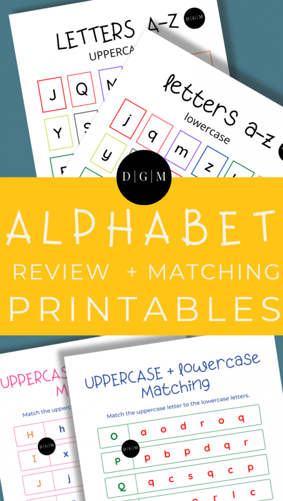 ABC Alphabet Printables