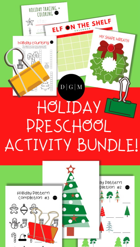 Holiday Preschool Bundle Pin
